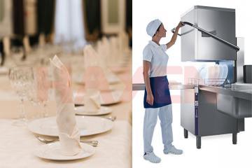 Máy rửa bát cửa sập (Hood Type) Electrolux – Chiến binh bền bỉ của mỗi khu bếp công nghiệp