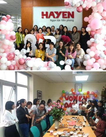 Chương trình chúc mừng ngày Quốc tế phụ nữ 08/3 của các công ty thuộc Tập đoàn Hà Yến.