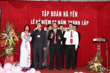 Diễn biến Lễ kỷ niệm 20 năm Hà Yến