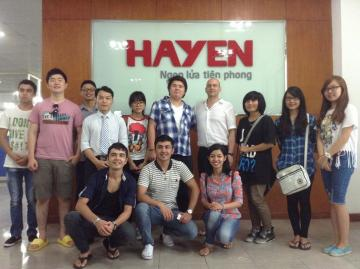 Tiếp đoàn sinh viên Hàn Quốc