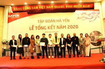 Chương trình tổng kết năm 2020 của Tập Đoàn Hà Yến
