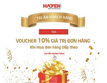 Tập đoàn Hà Yến tri ân tặng Voucher quà tặng cho khách hàng