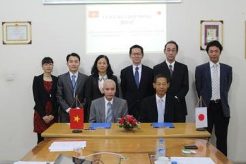 Lễ ký kết hợp đồng hợp tác giữa Công ty Cổ phần Hà Yến và Công ty Comet Kato – Nhật Bản