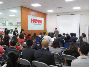 Hayen Corporation held Balanced Scorecards (BSC) Seminar successfully.