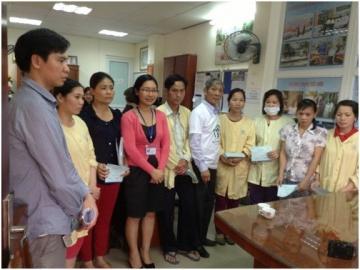 Hoạt động từ thiện tại Bệnh viện Nhi TW – Ngọn lửa sưởi ấm tấm lòng