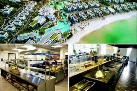 Top 10 hệ thống bếp khách sạn 5* lớn tại Hà Nội, Quảng Nam, Đà Nẵng, Nha Trang, Hồ Chí Minh, Phú Quốc