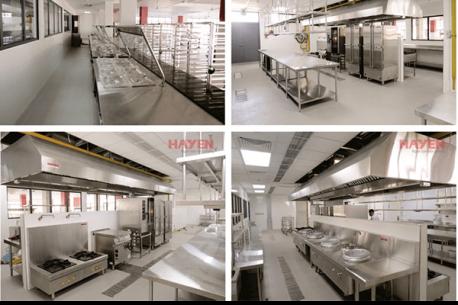 Top 5 hệ thống bếp ăn trường học quốc tế thiết kế theo nguyên lý bếp một chiều