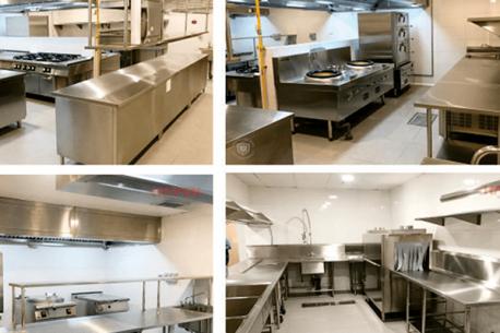 Hệ thống bếp công nghiệp và giặt là công nghiệp của dự án MGallery Sapa by Sofitel