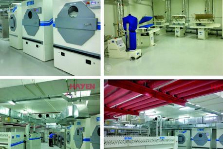 Hệ thống bếp công nghiệp và giặt là của dự án Crowne Plaza Vientiane Lào