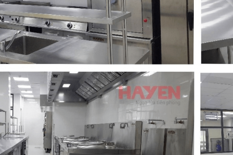Dự án bếp công nghiệp khu nghỉ dưỡng Vinpearl Phú Quốc