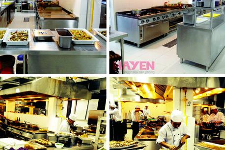 Dự án bếp công nghiệp bếp khách sạn Selion Đà Nẵng