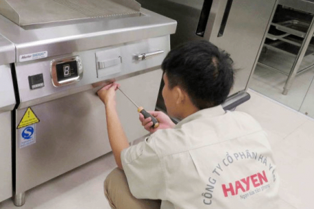 Dịch vụ sửa chữa và bảo trì bảo dưỡng thiết bị bếp cho nhà hàng, khách sạn
