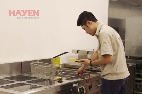 Công ty sửa chữa bếp chiên nhúng công nghiệp chuyên nghiệp