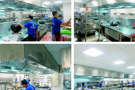 Dự án bếp công nghiệp khu nghỉ dưỡng Vinpearl Ha Long Bay Resort