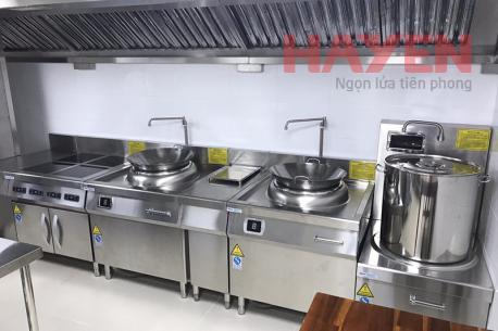 Hình ảnh thiết bị bếp từ MasterINDUC lắp thực tế tại các dự án nhà hàng, khách sạn, nhà máy, bệnh viện, trường học.