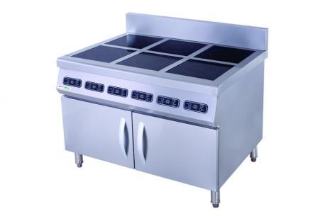 Các dòng bếp từ công nghiệp công suất 3KW - 3,5KW – 5KW phổ biến trong các nhà hàng, khách sạn