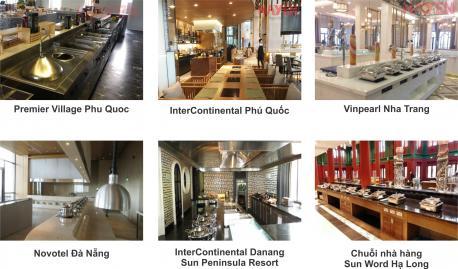 Các dải công suất bếp từ công nghiệp MasterInduc trên thị trường hiện nay