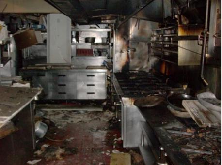 Các vấn đề cháy nổ trong bếp ăn công nghiệp