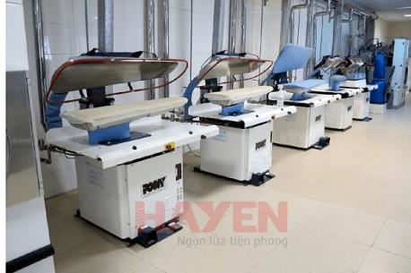 Hà Yến đơn vị cung cấp hệ thống thiết bị giặt là công nghiệp chuyên nghiệp