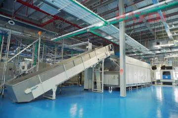 Hệ thống giặt là công nghiệp cho khu nghỉ dưỡng, khách sạn – Dự án nghỉ dưỡng tỷ đô Nam Hội An – Hoiana