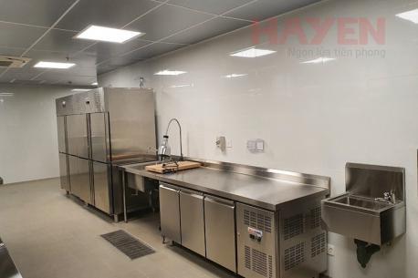 Hình ảnh thiết bị lạnh MasterCOOL được lắp đặt thực tế tại các dự án khách sạn, khu nghỉ dưỡng, căng tin.