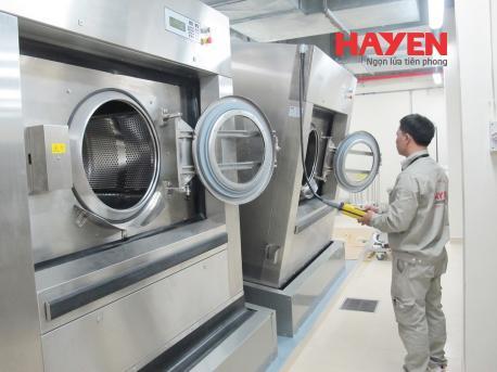 Hà Yến chuyên sửa chữa thiết bị giặt là công nghiệp, máy giặt công nghiệp
