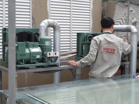Công ty Hà Yến chuyên sửa chữa kho lạnh, kho mát, kho đông công nghiệp