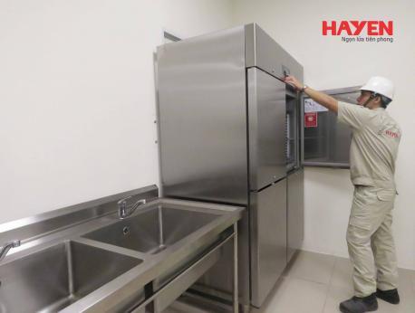 Tủ lạnh, tủ đông công nghiệp không lạnh nguyên nhân và cách khắc phục