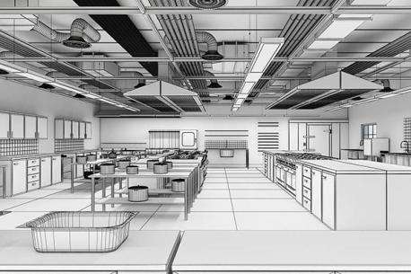 Mọi điều cần biết khi thiết kế một khu bếp nhà hàng, khách sạn, canteen (Phần 3)
