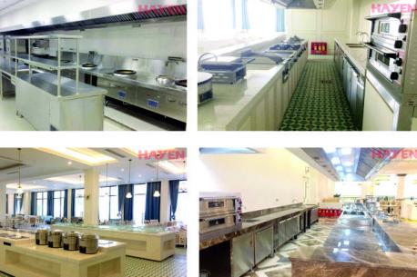 Hà Yến tư vấn thiết kế bếp công nghiệp cho dự án Vinpearl Bãi Dài Nha Trang