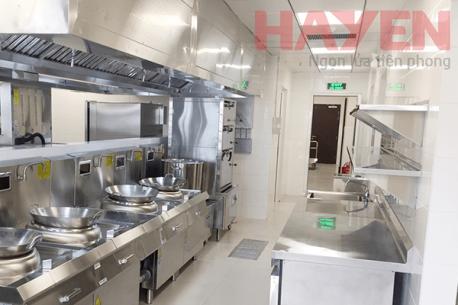 Dự án bếp ăn công nghiệp bệnh viện quốc tế Vinmec do Hà Yến thực hiện.
