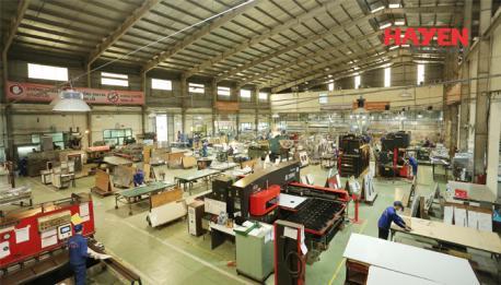 Công ty Hà Yến chuyên sản xuất thiết bị bếp, hệ thống bếp công nghiệp