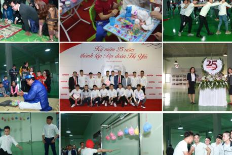 Lễ kỷ niệm 25 năm thành lập Tập đoàn Hà Yến.