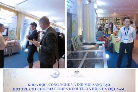 """Hà Yến tham gia hoạt động """"Trình diễn công nghệ - Innovation Showcase 2019"""" tại """"Tuần lễ đổi mới sáng tạo"""""""