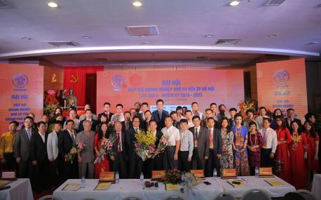 Công ty Hà Yến tham gia đại hội Hiệp hội doanh nghiệp nhỏ và vừa lần thứ V