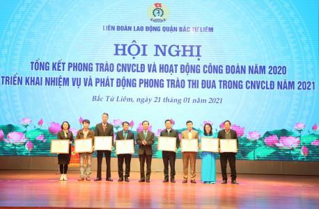 Tổng liên đoàn lao động VN khen tặng chú Nguyễn Đăng Vân danh hiệu Công nhân tiêu biểu năm 2020