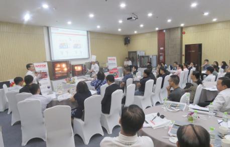 Hà Yến tổ chức thành công Hội thảo phương pháp nấu COOK & CHILL tại Hồ Chí Minh