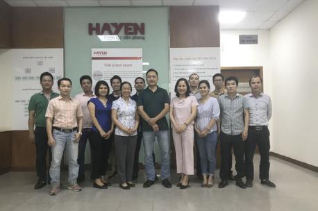 """Hà Yến tổ chức chương trình đào tạo """"Kế hoạch đánh giá viên nội bộ - hệ thống Quản lý chất lượng ISO 9001-2015"""""""