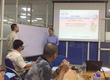 Hà Yến tổ chức thành công chương trình đào tạo ISO 9001:2015 cho Cán bộ quản lý và nhân viên chủ chốt
