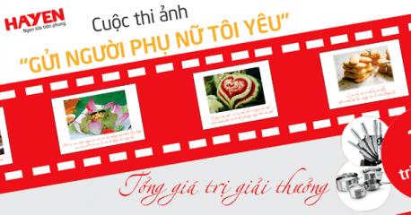 Công ty Hà Yến tổ chức cuộc thi ảnh online