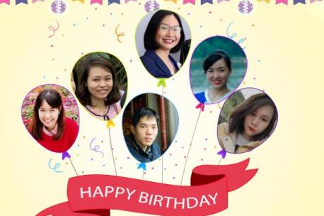 Tập thể gia đình Hà Yến, niềm vui nhân đôi với bữa tiệc sinh nhật chung tháng 4 và tháng 5