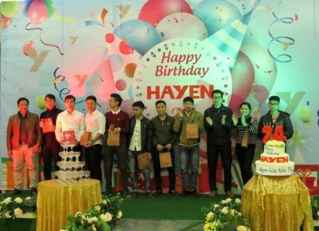 Hà Yến tưng bừng tổ chức tiệc kỷ niệm 24 năm thành lập công ty