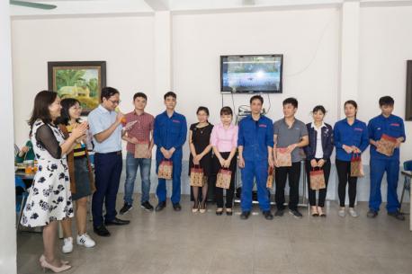 Chương trình chúc mừng sinh nhật cho các thành viên có sinh nhật trong tháng 3 của nhà máy Hà Yến