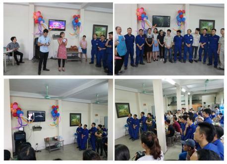 Bữa tiệc chúc mừng sinh nhật các thành viên có ngày sinh trong tháng 8