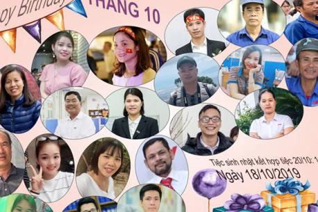 Hà Yến tổ chức bữa tiệc chúc mừng Ngày phụ nữ Việt Nam kết hợp với sinh nhật tháng 10.