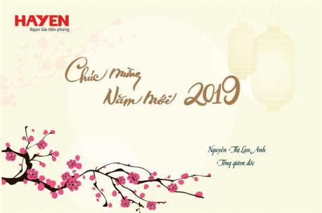 Tổng Giám đốc Nguyễn Thị Lan Anh gửi tâm thư đến các thành viên Hà Yến nhân dịp chào Xuân Kỷ Hợi.
