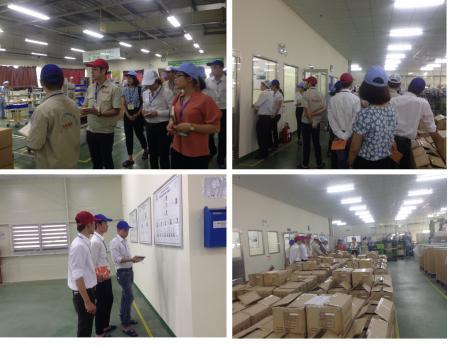Chương trình thăm quan và học hỏi về Quy trình quản lý sản xuất và tổ chức doanh nghiệp của công ty Nhật Bản.