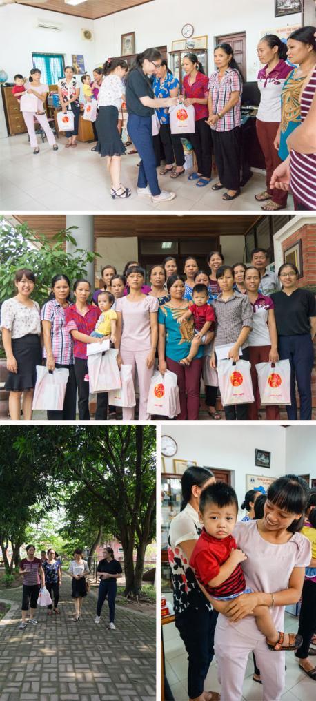 Công ty CP Hà Yến đến thăm hỏi và tặng quà làng trẻ em SOS Hà Nội