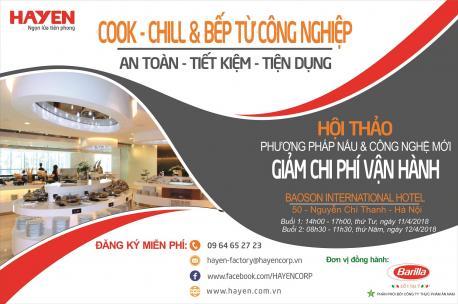 """Mời dự hội thảo """"Phương pháp nấu và công nghệ mới giúp giảm chi phí vận hành trong nhà hàng, khách sạn"""" tại Hà Nội."""