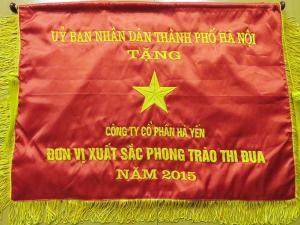 Cờ thi đua UBND TP Hà Nội
